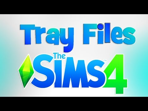 EASY!! How to install  Lots / Sims from Websites   Sims 4 Tray Files Tutorial