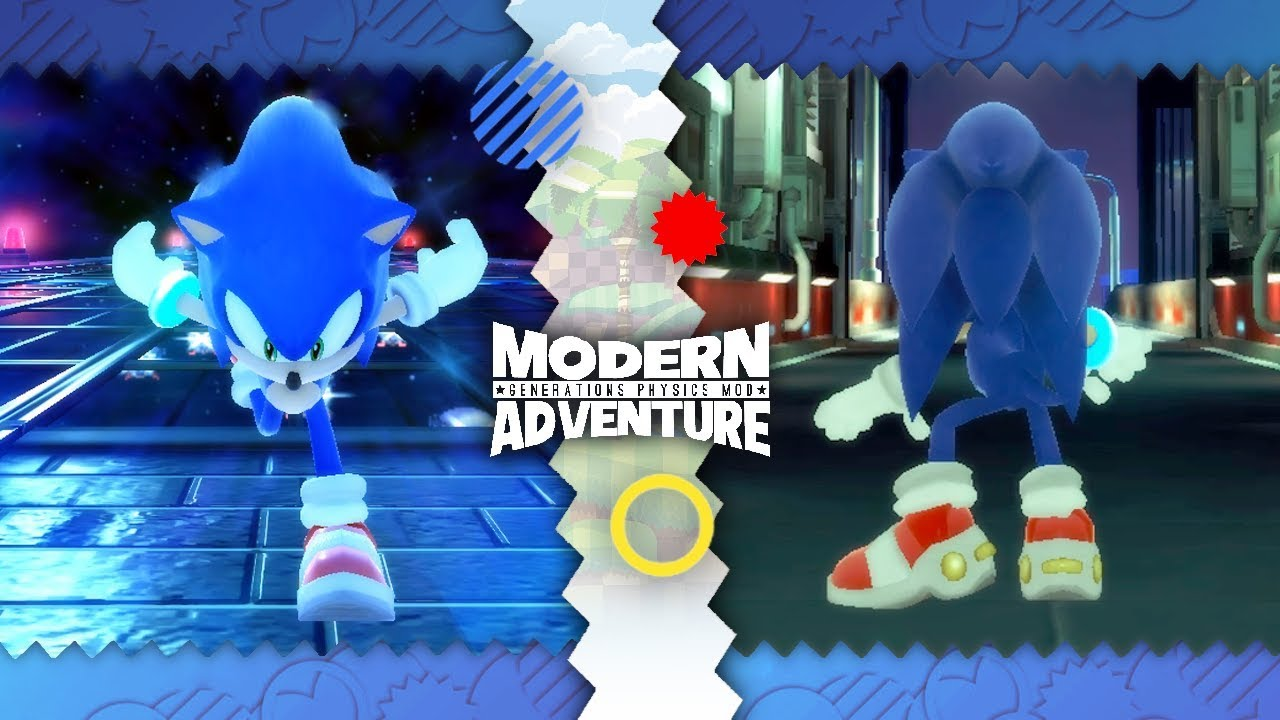 Sonic Generations ✪ Modern Adventure Physics Mod