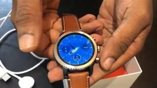 Fossil Q Explorist Analog-Digital Black Dial Men's Watch-FTW4004