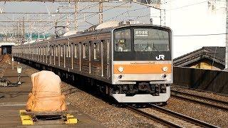 2018/02/19 武蔵野線 205系 M3編成 西浦和駅 thumbnail