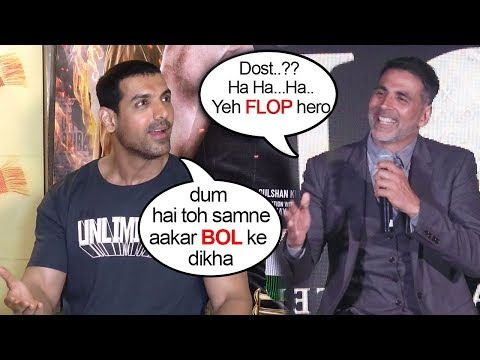John Abraham's BEST Reply To Akshay Kumar's INSULT On On Gold CLASH With Satyamev Jayate On 15th Aug