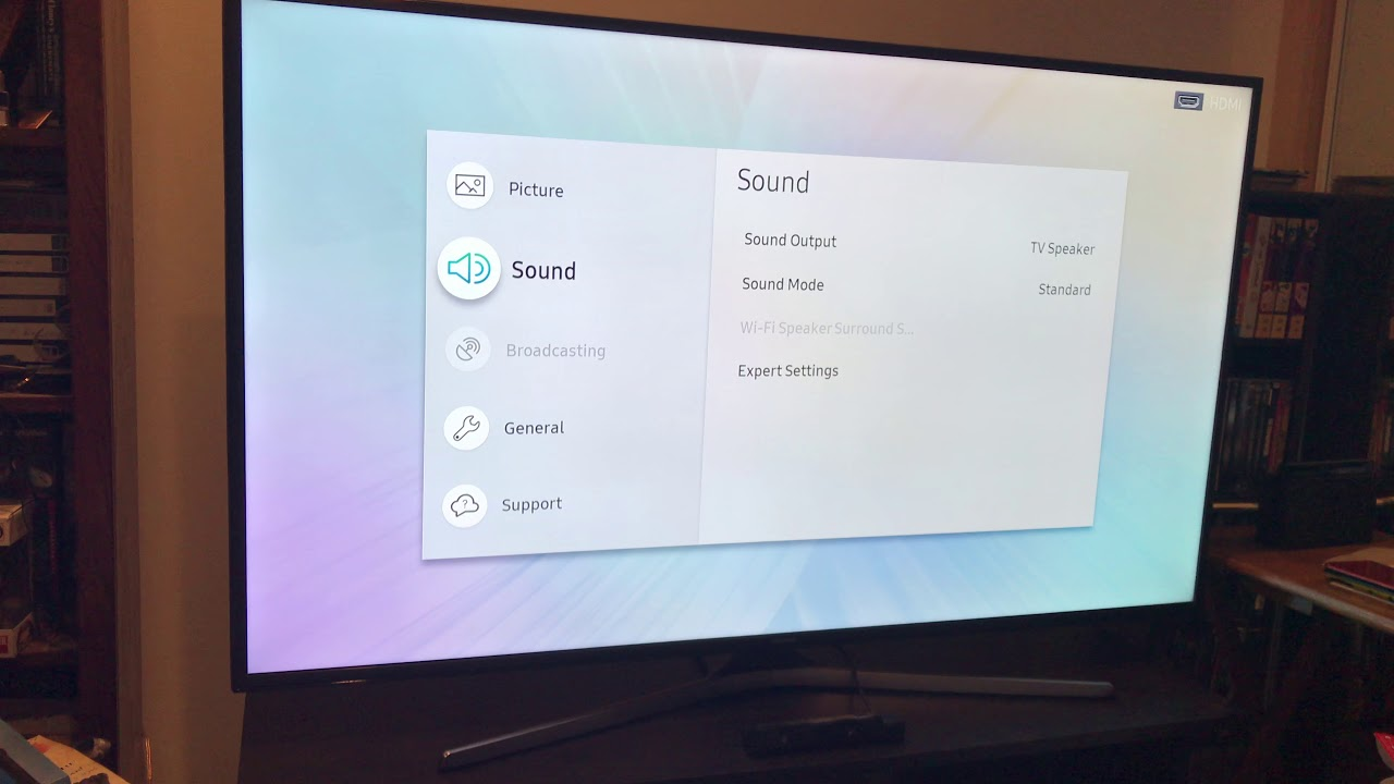 How to Enable HDR in a Samsung 4KTV (4K)