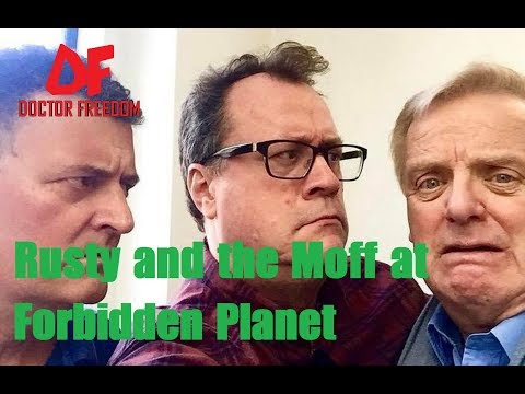 DOCTOR WHO NEWS - Rusty and the Moff at Forbidden Planet