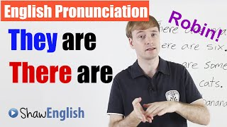 English Pronunciation: They are / There are