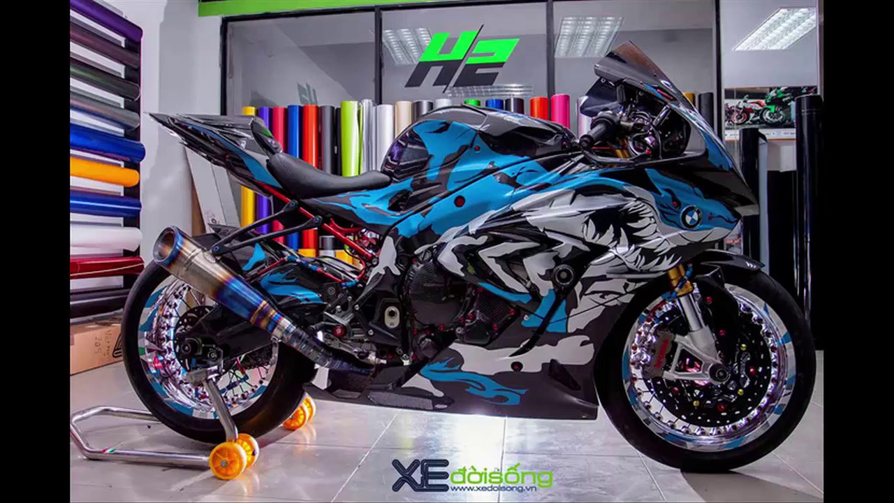 Bmw S1000rr Carbon Ilmberger Stylized Shark Designs