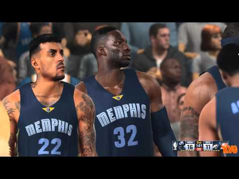 NBA 2K16 - Memphis Grizzlies vs Oklahoma City Thunder Gameplay (PC HD) [1080p60FPS]