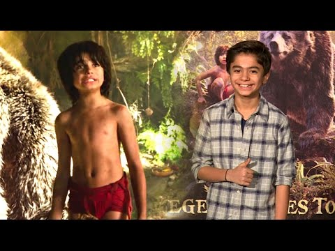 UNCUT: The Jungle Book 2016 Hindi Trailer Launch | Neel Sethi As Mowgli