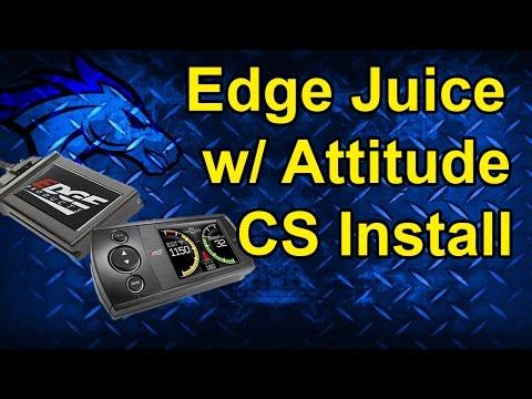 Edge Juice with Attitude CS Install: 2010 Dodge Cummins 6.7L #31005