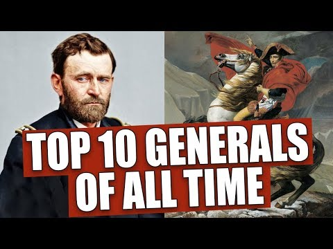 Top 10 Generals Of All Time (according To Math)