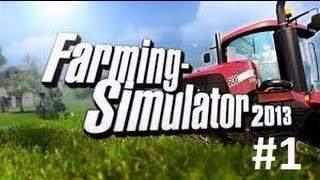 Farming Simulator 2013 on PS3 Part 1
