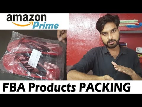 Amazon FBA - PACK Products for FC Center