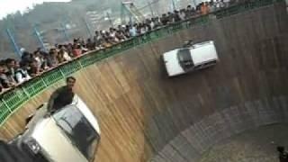 Well of Death - Car and Bike Stunt