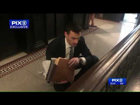NY officials file grievance against attorney seen in racist-rant video