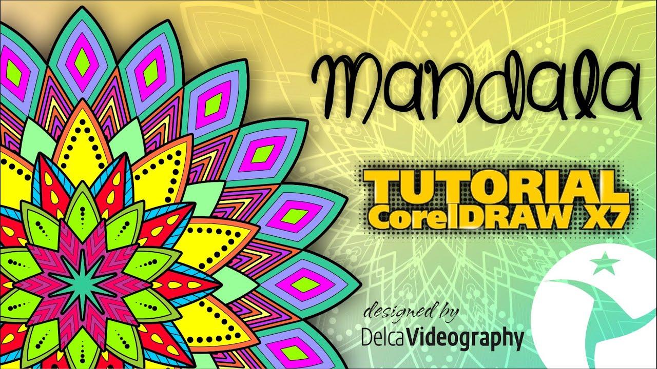 Intermedio dise o de mandalas tutorial corel draw x4 x5 for Disenos de mandalas