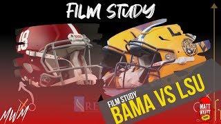 Film Study: LSU vs Alabama, 2019