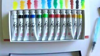 Sakura Koi Watercolors