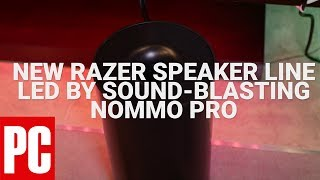 CES 2018: Razer Reveals New Speaker Line Led By Sound-Blasting Nommo Pro