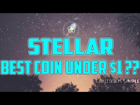 WHY STELLAR IS MY FAVORITE COIN UNDER $1 ?? XLM PRICE PREDICTION !!