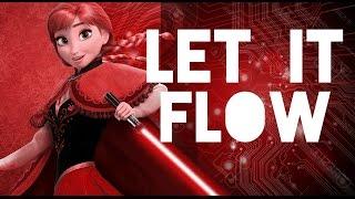 Paródia Star Wars - Let it Flow (Let it Go - Frozen) - Legendado [PT-BR]