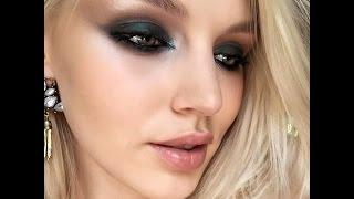 Татьяна Горинович. Темно-зеленые smoky eyes двумя продуктами