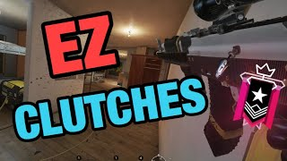 EZ CLUTCHES - Rainbow Six Siege