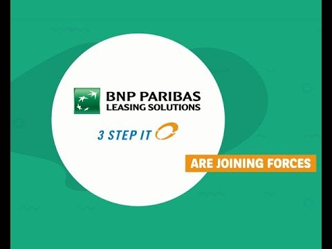 BNP Paribas Leasing Solutions and 3 Step IT join forces