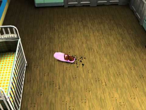 The Sims 3 Supernatural baby fairy aging to toddler - YouTube