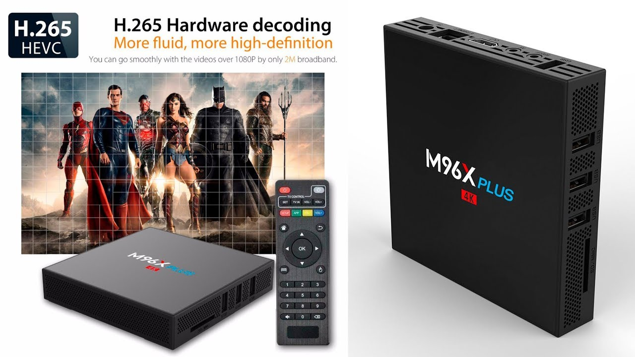 Новинка <b>TV Box</b> M96X Plus <b>Android 7.1</b> с достойными ...