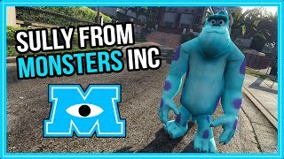 GTA V: Sully From Monsters Inc. Skin Mod