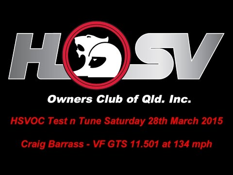 HSVOC Test n Tune - Craig Barrass - VF GTS