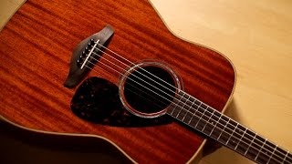 Yamaha FG850 Acoustic Guitar Demo