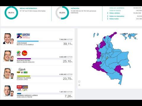 Resultados de las elecciones presidenciales de Colombia 2018 – primera vuelta | Noticias Caracol