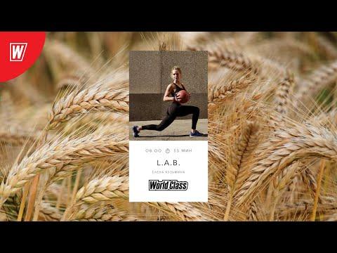 L.A.B. с Еленой Кузьминой | 15 сентября 2020 | Онлайн-тренировки World Class