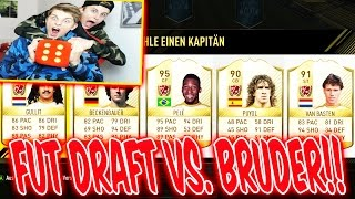 FIFA 17 - Kleiner BRUDER baut ABNORMALES FUT DRAFT!! 😈😜😈- ULTIMATE TEAM (DEUTSCH)