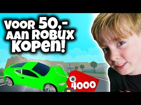 STIEKEM VOOR €50,- ROBUX KOPEN 💰💰 | Jesse de Bakker