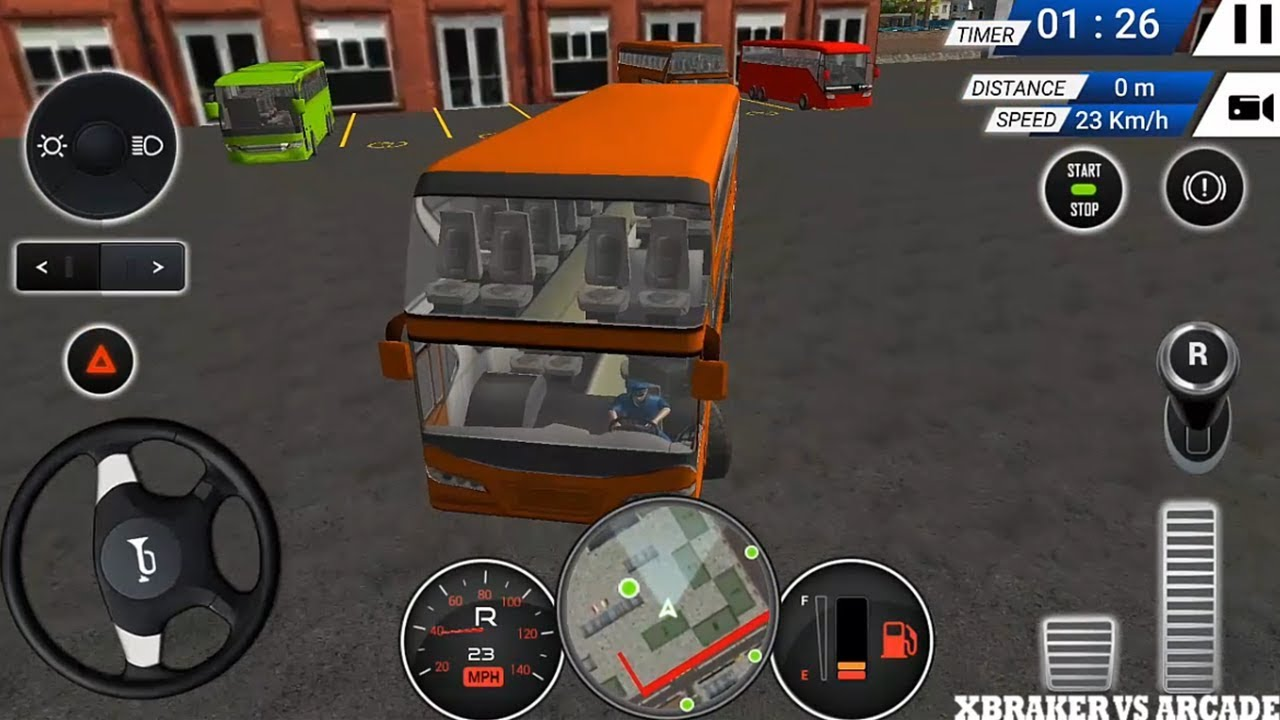 Euro Bus Driving Simulator   Wheels On The Bus  - Android GamePlay FHD