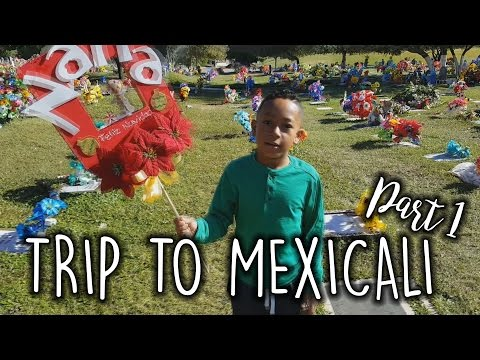 ✼TRAVEL VLOG: MEXICALI, MEXICO PART 1✼ - (12/16/16-12/17/16) - EyeAmLolo