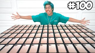 Customizing 100 iPhones, Then Giving Them To Kids In Need!