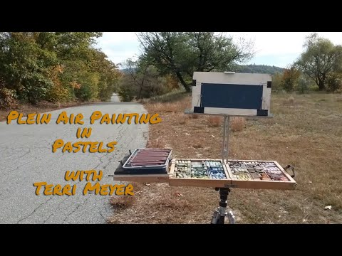 Painting Plein Air With Pastels In Maine - With Terri Meyer