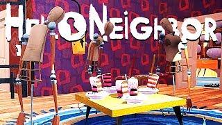 Creepiest Birthday Party Ever and Unlocking the Gun! - Hello Neighbor Beta 3 Gameplay