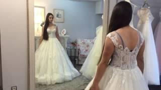 Примерка свадебного платья