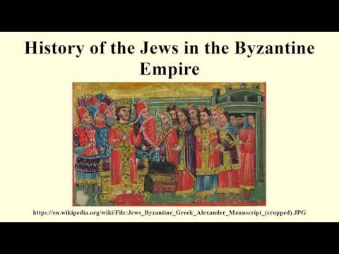 History of the Jews in the Byzantine Empire