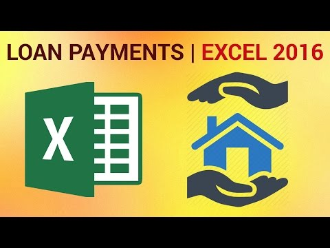 How to Calculate Loan Payments in Excel 2016
