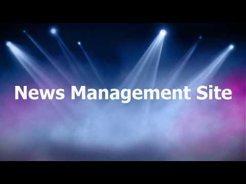 News Management Website in PHP MySQL