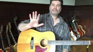 "Jim Keyes Guitar Lesson ""Romeo and Juliet"" (standard tuning)"