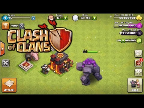 Clash Of Clans   MEGA MOD - Android