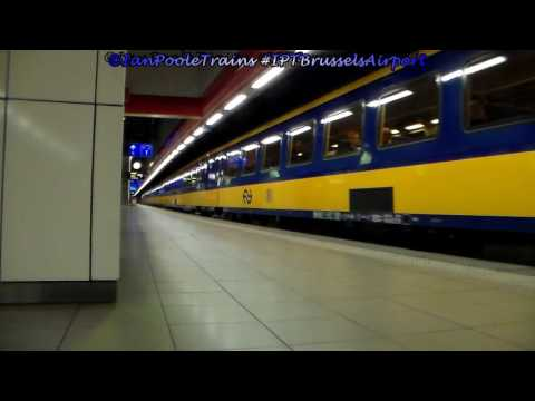 Season 8, Episode 197 - Trains at Brussels Airport station