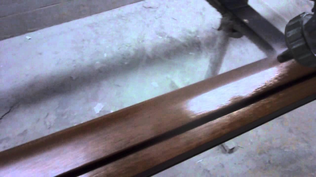 Come Verniciare Gli Infissi as spray painting wood frames (come verniciare a spruzzo infissi in legno)