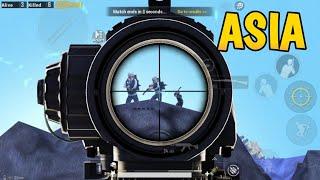 VECTOR + 6x scope vs ASIAN PROS! | PUBG MOBILE