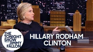 Hillary Clinton on Her Book What Happened and Using Twitter to Get Trump's Attention